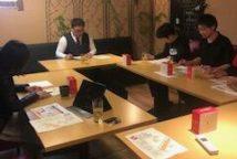 社内日本酒講習会を開催いたしました
